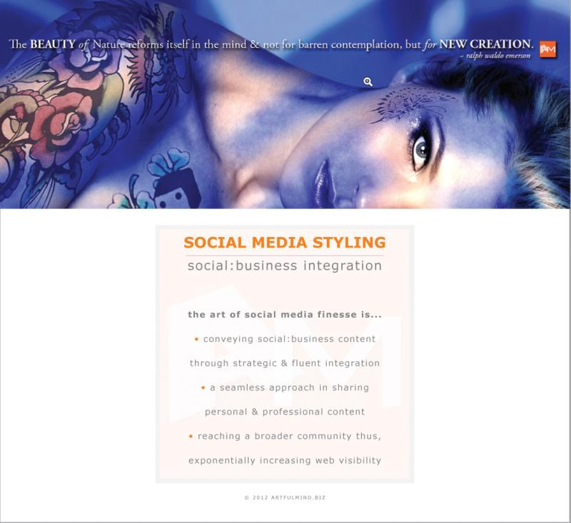 Social Media Styling by ArtfulMind.Biz
